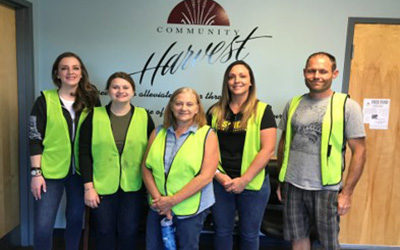 Fort Wayne Employees Volunteering
